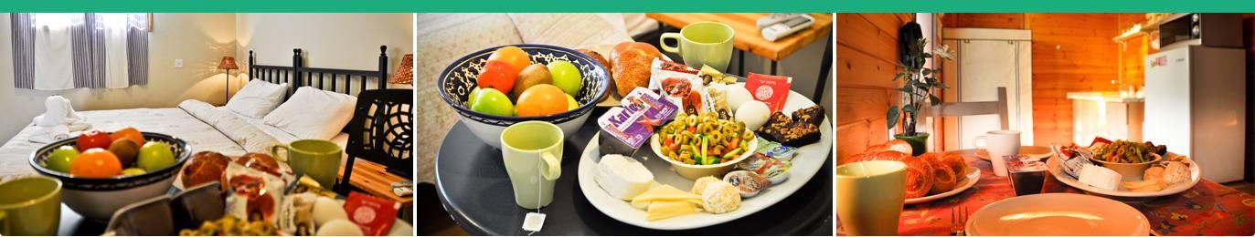 ארוחות בוקר כפריות
